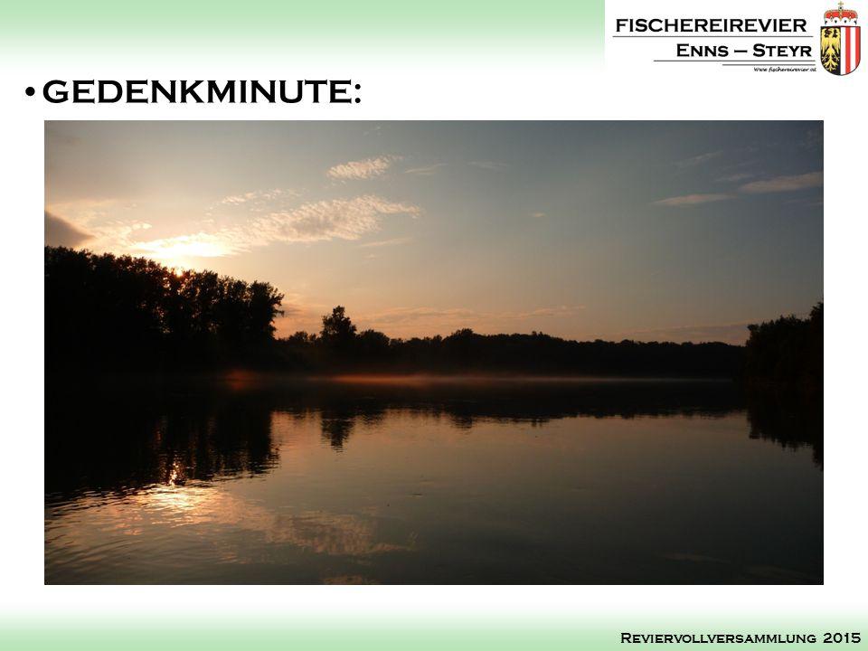 Protokoll Reviervollversammlung 2014 Schriftführung: Reviervollversammlung 2015
