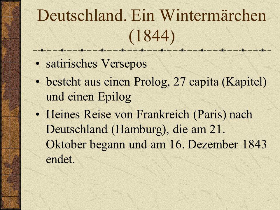 """Heinrich Heine """"Wenn es den Kaiser juckt, so müssen sich die Völker kratzen einer der bedeutendsten deutschen Dichter, Schriftsteller und Journalisten des 19."""
