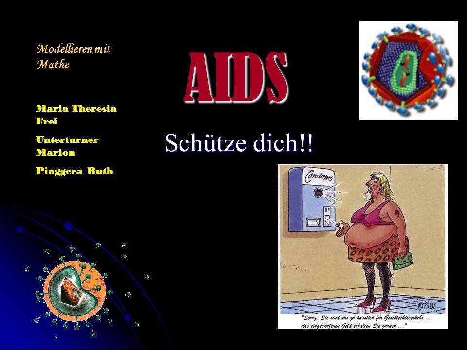 Wir machten in unserer Klasse eine Umfrage zu AIDS, da es uns interessiert in wie weit unsere Mitschüler über dieses Thema bescheid wissen.