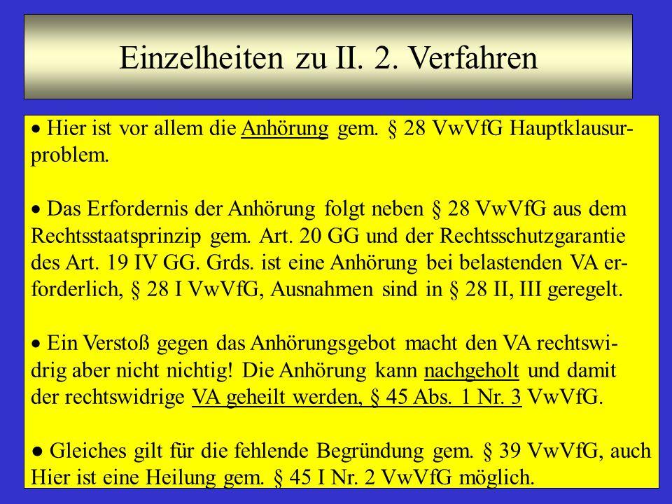 7 Einzelheiten zu II.2.