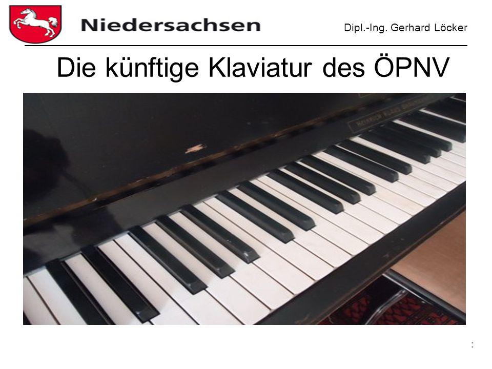 Dipl.-Ing. Gerhard Löcker : Die künftige Klaviatur des ÖPNV