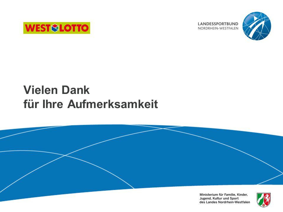 41 | Sport der Älteren, Duisburg 26.10.2009 Vielen Dank für Ihre Aufmerksamkeit
