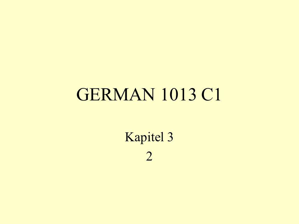 GERMAN 1013 C1 Kapitel 3 2