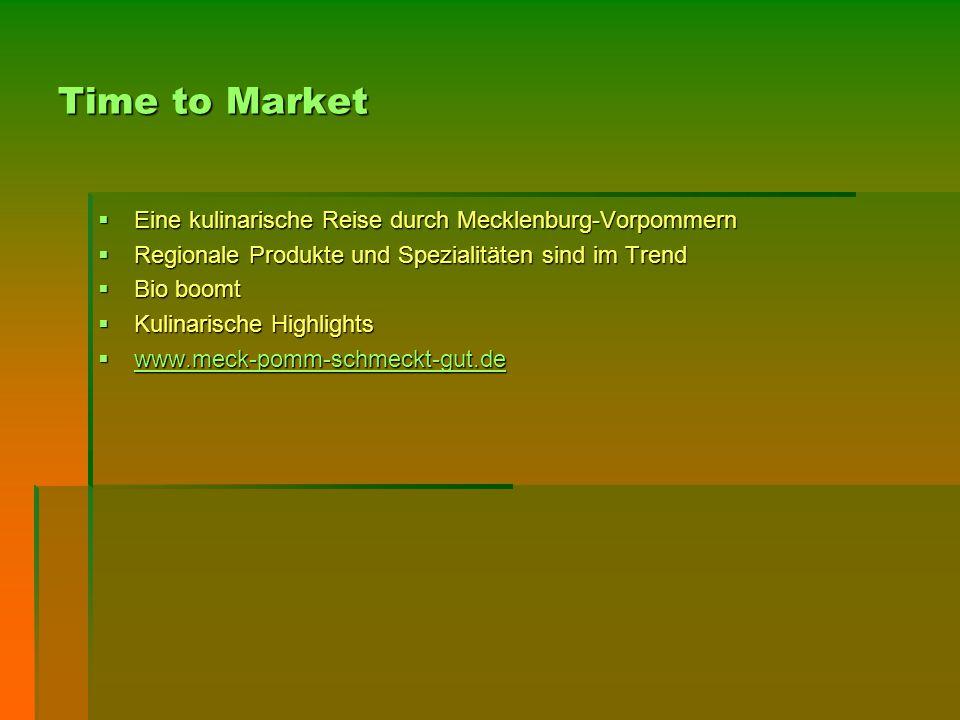 Fakten – Nutzung als ideale Ausgangssituation  Regionale Produkte und Spezialitäten sind im Trend.