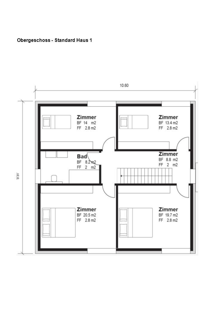 Obergeschoss - Standard Haus 2 - 11