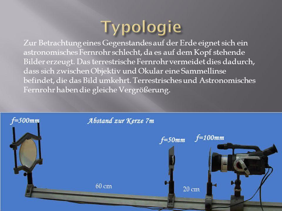 Fernrohre, die nur ein Objektiv haben, erzeugen kein stereoskopisches Bild.
