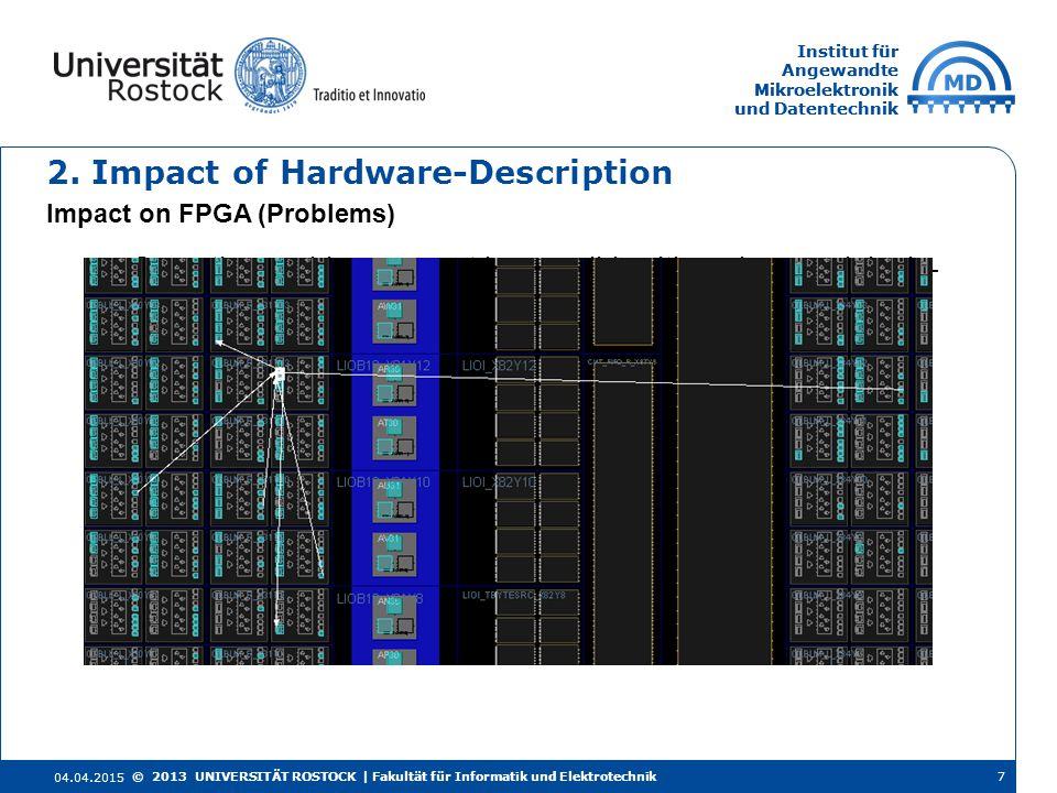 Institut für Angewandte Mikroelektronik und Datentechnik Institut für Angewandte Mikroelektronik und Datentechnik 2.