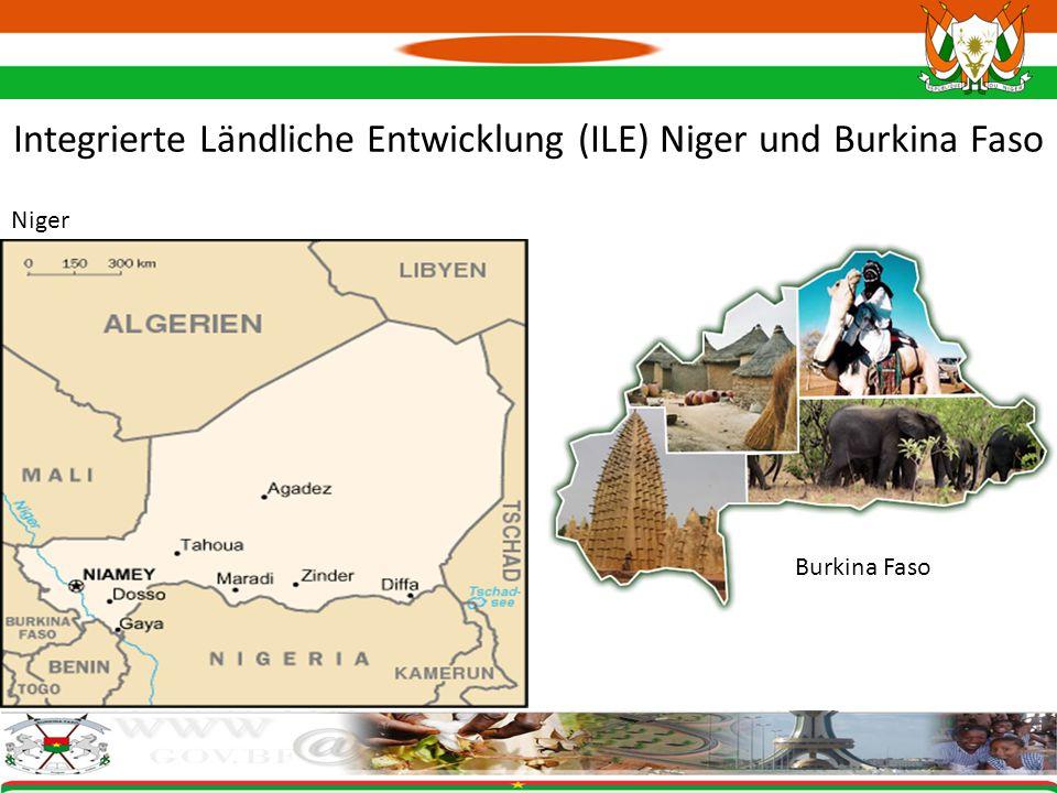 Integrierte Ländliche Entwicklung (ILE) Niger und Burkina Faso Burkina Faso Niger