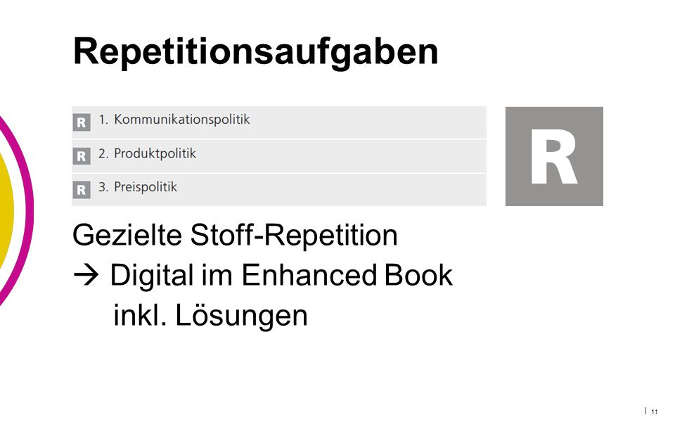 | 11 Repetitionsaufgaben Gezielte Stoff-Repetition  Digital im Enhanced Book inkl. Lösungen