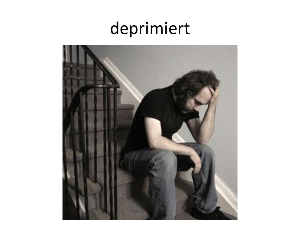 deprimiert