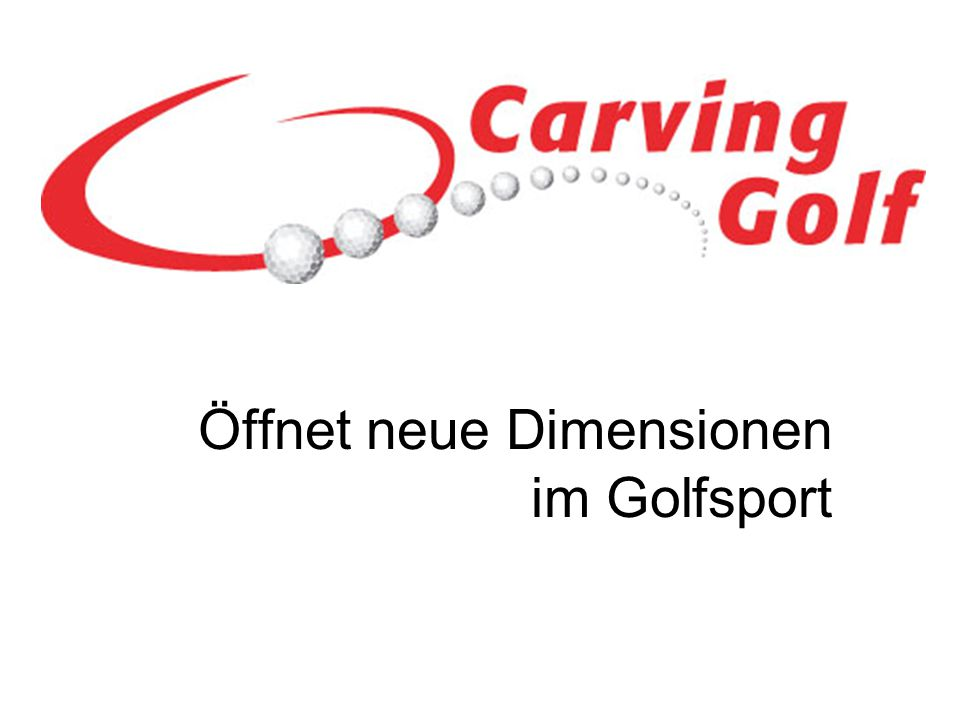 Carvinggolf besteht aus zwei grundsätzlichen Elementen, die jedoch in enger Symbiose zueinander stehen.