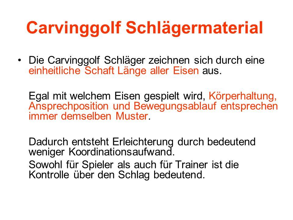 Carvinggolf Lehrmethodik Die Carvinggolf Lehrmethode basiert auf der Bewegung des physikalischen Pendels.