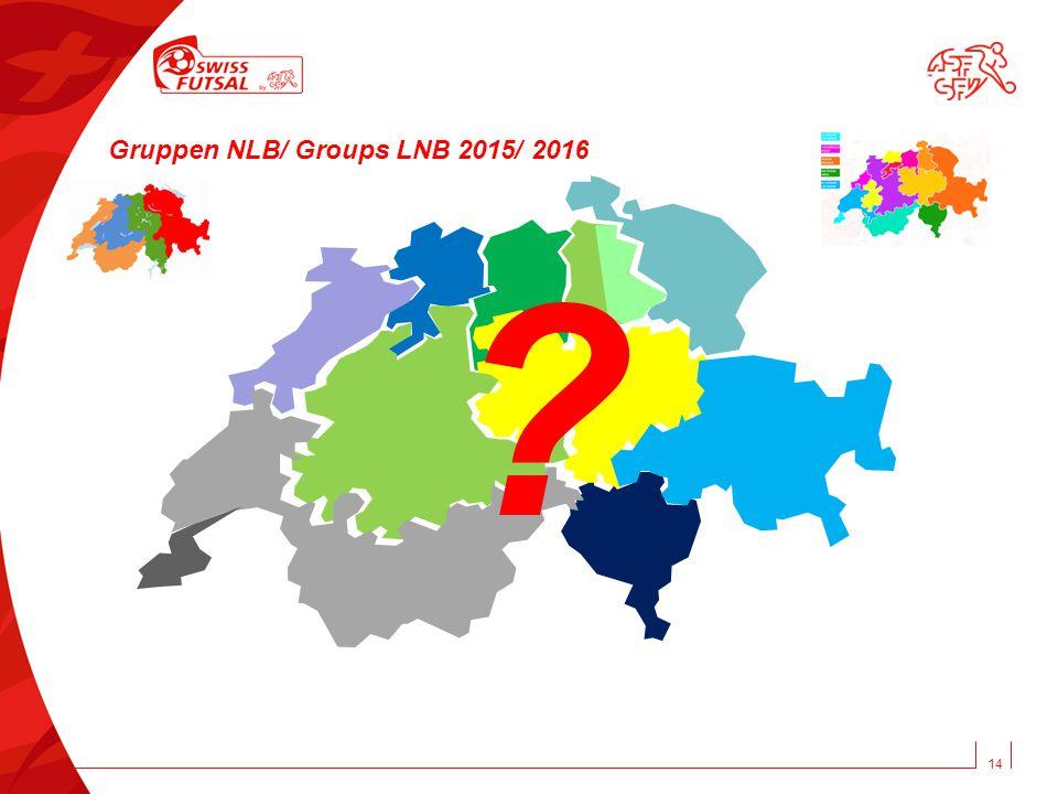 14 ? Gruppen NLB/ Groups LNB 2015/ 2016