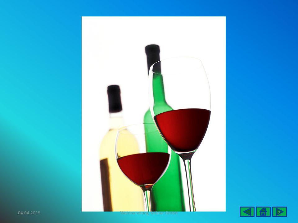 Veranstaltungskalender Weinproben Weinproben verbunden mit einem Essen Kellerführungen Weinernte Seminare Tag des offenen Weinfasses 04.04.20153Weinhandlung Müller GmbH