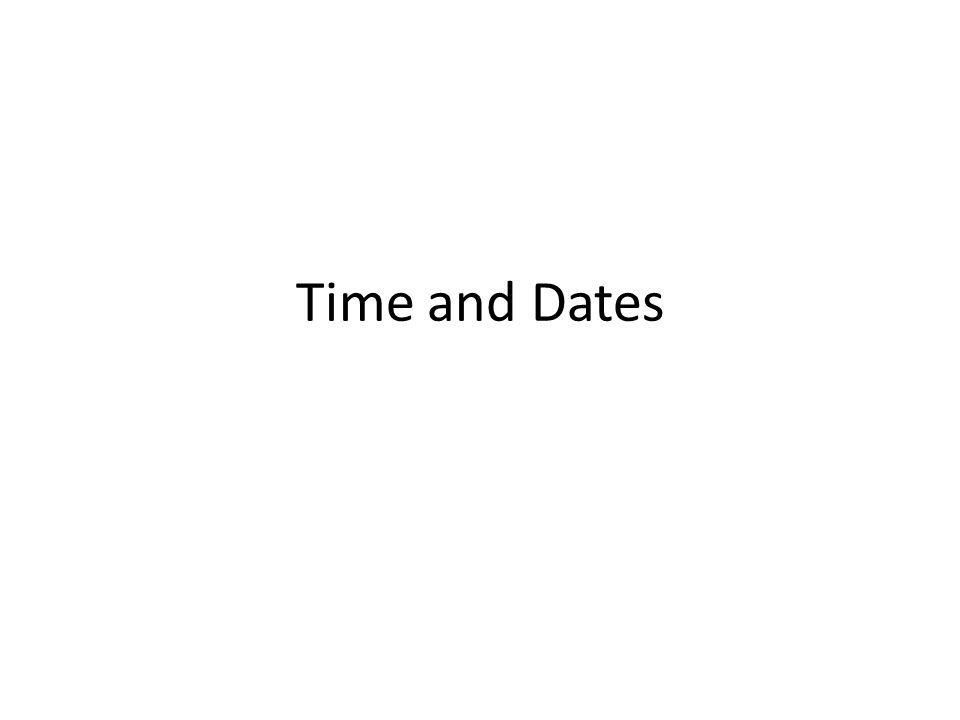 Telling time To ask: What time it is? Wie spät ist es? Wie viel Uhr ist es?