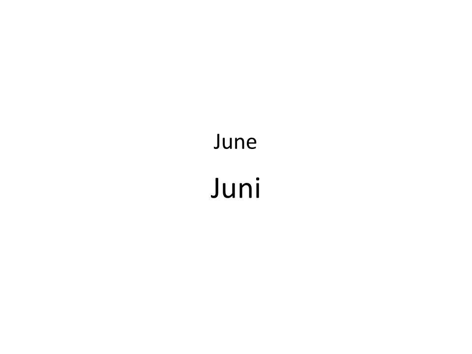 Juni June