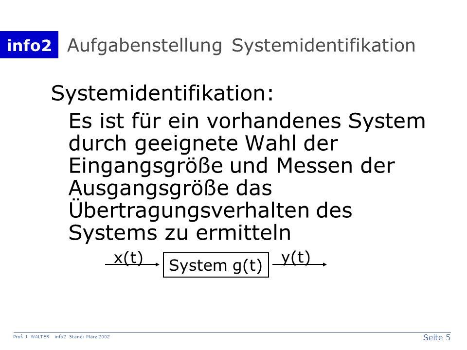 info2 Prof.J. WALTER info2 Stand: März 2002 Seite 16 Stabilität Stabilität: wenn!dann.