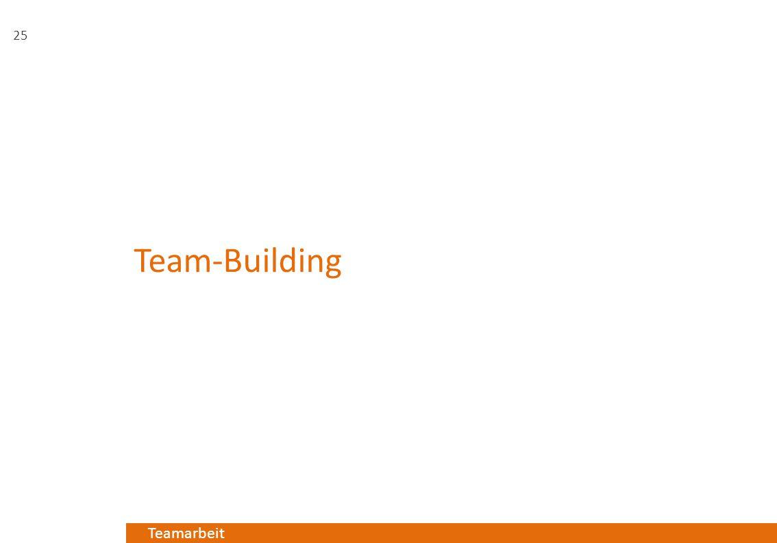 Teamarbeit Team-Building 25