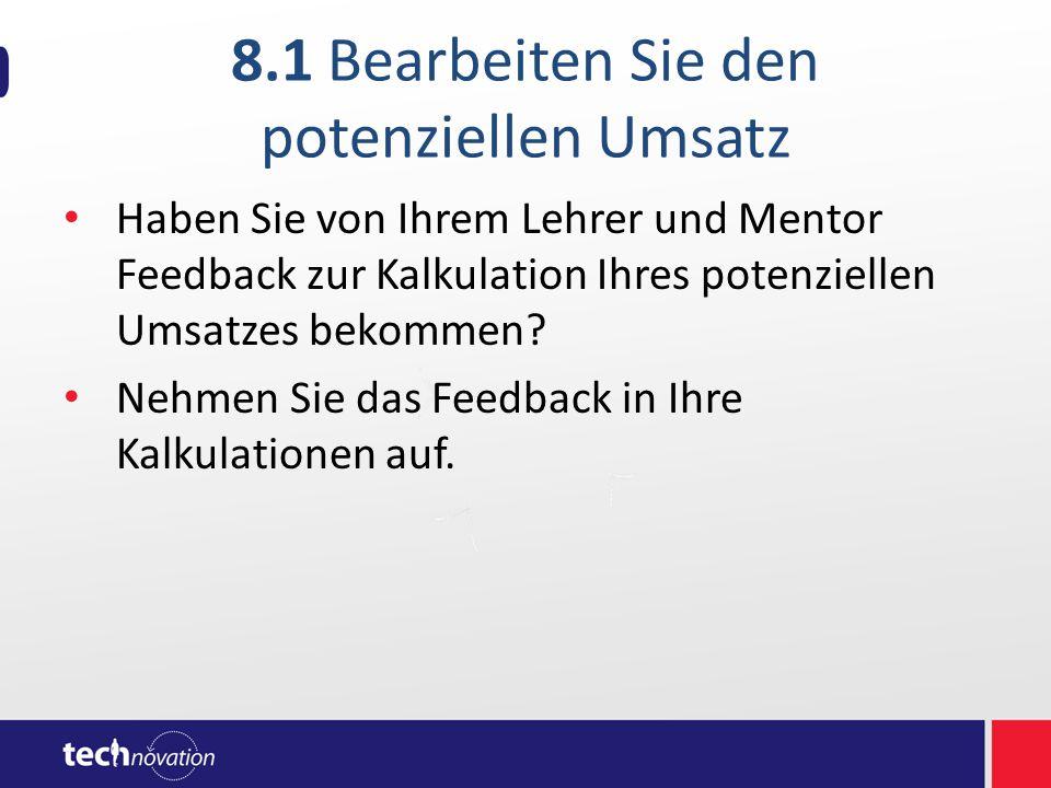 8.2 Verkaufsgesprächsrichtlinien Die Geschichte Ihrer App  Wer, was, wo, wann, warum, wie.