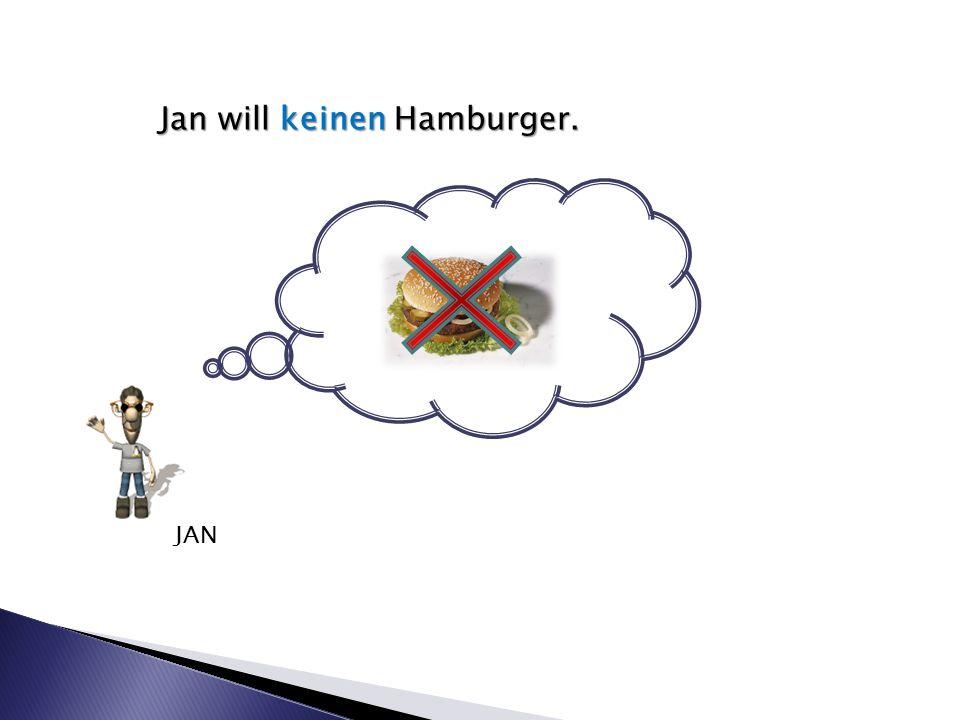 La quantité zéro Pour exprimer une quantité zéro, on utilise le déterminant négatif « kein » qui prend les mêmes marques que « ein » : einen Ich kaufe einen Kalender.