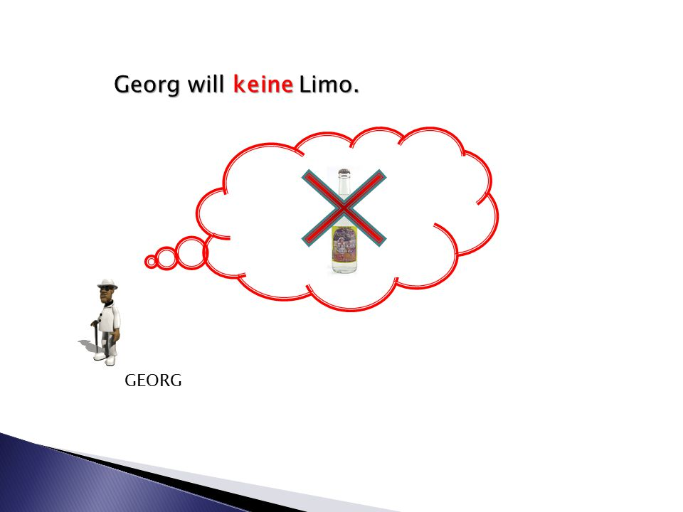 Georg will keine Limo. GEORG