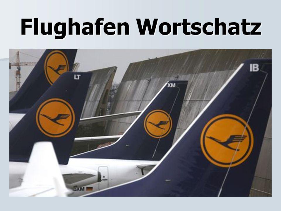 Flughafen Wortschatz