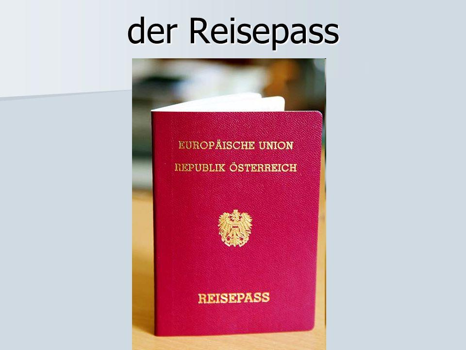 der Reisepass