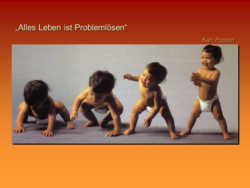"""""""Alles Leben ist Problemlösen"""" Karl Popper"""