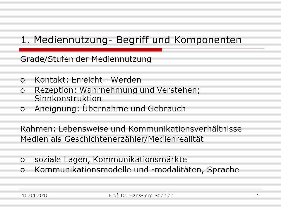 16.04.2010Prof.Dr. Hans-Jörg Stiehler16 3.