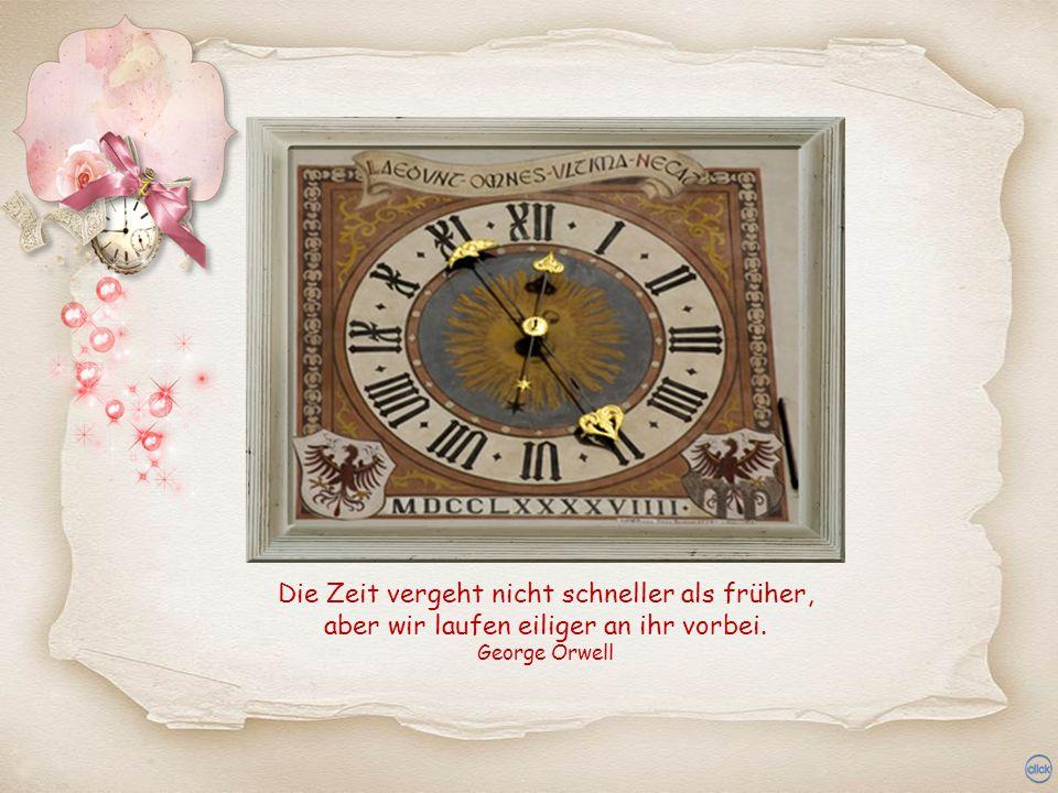 Die zwei grössten Tyrannen der Erde: der Zufall und die Zeit. Johann Gottfried von Herder