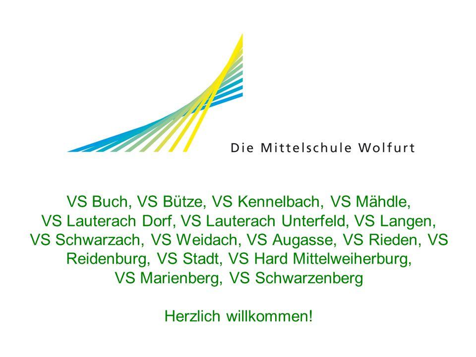VS Buch, VS Bütze, VS Kennelbach, VS Mähdle, VS Lauterach Dorf, VS Lauterach Unterfeld, VS Langen, VS Schwarzach, VS Weidach, VS Augasse, VS Rieden, V
