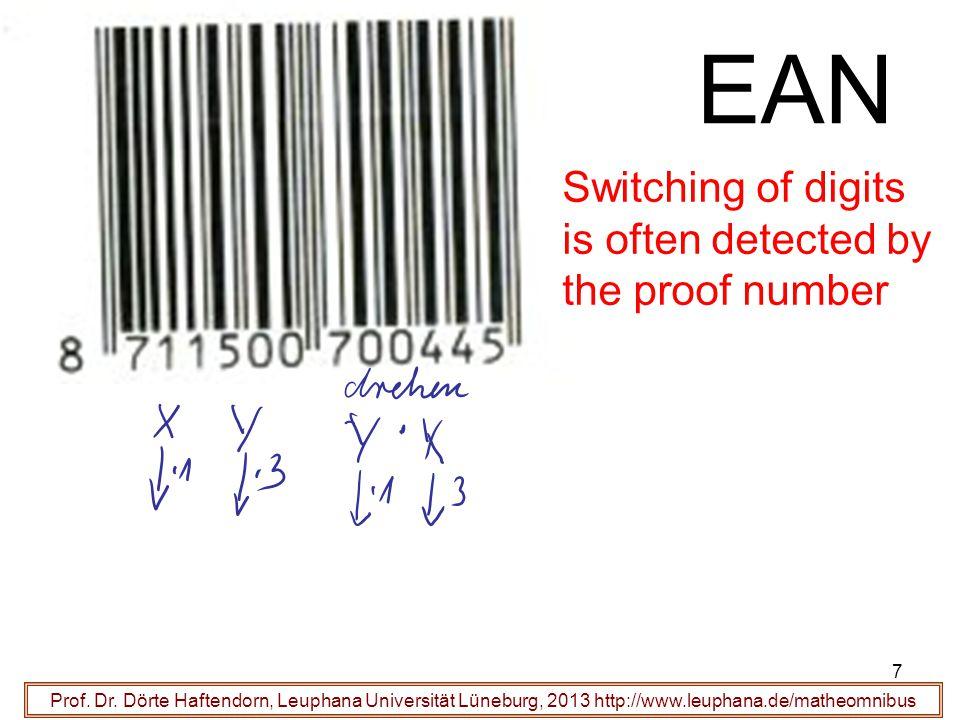18 Bug Corrective Codes Prof.Dr.