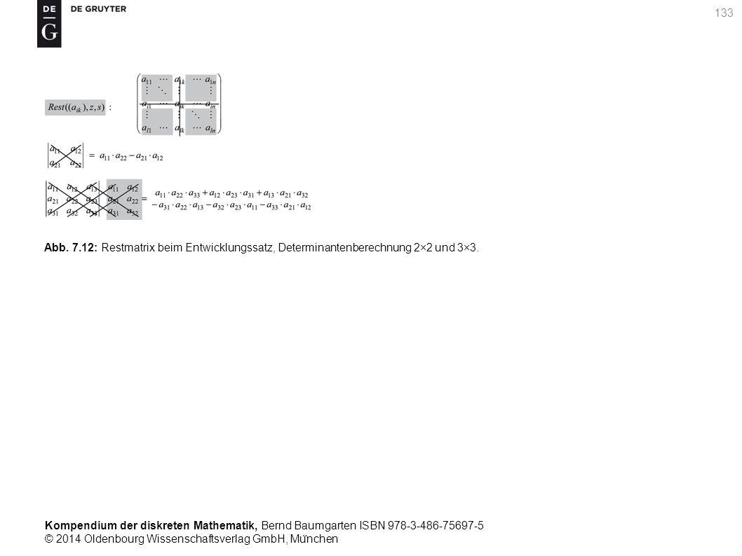 Kompendium der diskreten Mathematik, Bernd Baumgarten ISBN 978-3-486-75697-5 © 2014 Oldenbourg Wissenschaftsverlag GmbH, Mu ̈ nchen 133 Abb. 7.12: Res