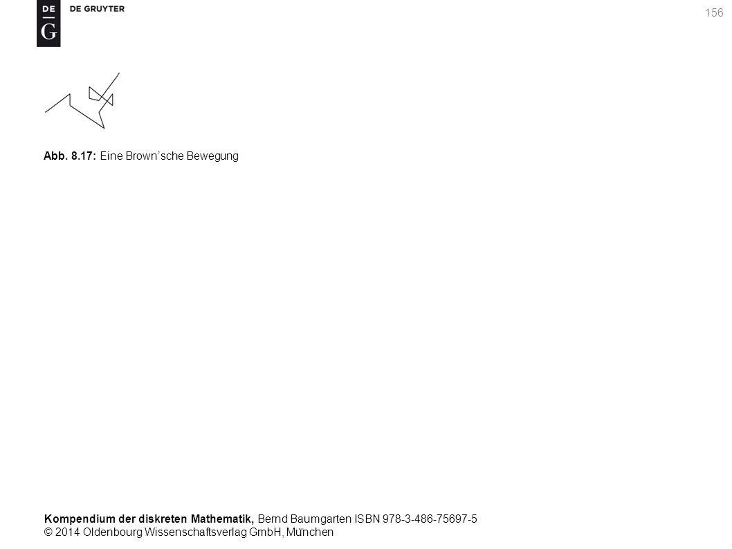 Kompendium der diskreten Mathematik, Bernd Baumgarten ISBN 978-3-486-75697-5 © 2014 Oldenbourg Wissenschaftsverlag GmbH, Mu ̈ nchen 156 Abb. 8.17: Ein