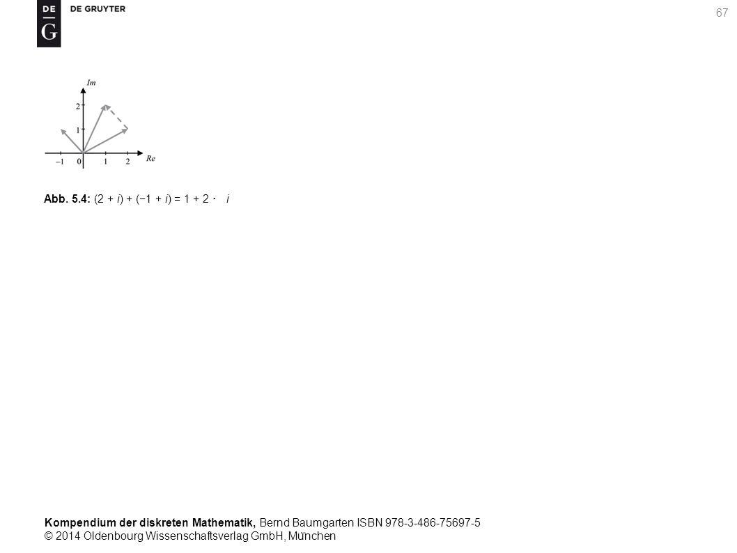 Kompendium der diskreten Mathematik, Bernd Baumgarten ISBN 978-3-486-75697-5 © 2014 Oldenbourg Wissenschaftsverlag GmbH, Mu ̈ nchen 67 Abb. 5.4: (2 +