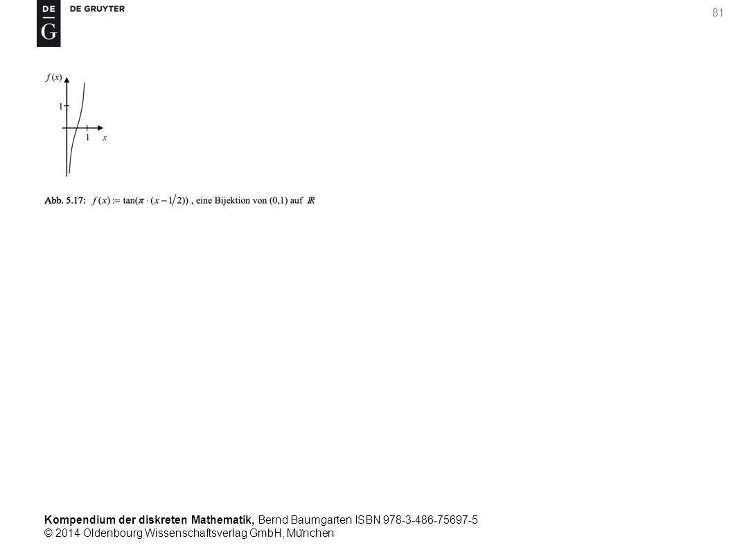 Kompendium der diskreten Mathematik, Bernd Baumgarten ISBN 978-3-486-75697-5 © 2014 Oldenbourg Wissenschaftsverlag GmbH, Mu ̈ nchen 81