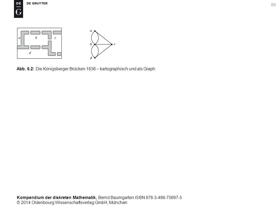 Kompendium der diskreten Mathematik, Bernd Baumgarten ISBN 978-3-486-75697-5 © 2014 Oldenbourg Wissenschaftsverlag GmbH, Mu ̈ nchen 86 Abb. 6.2: Die K