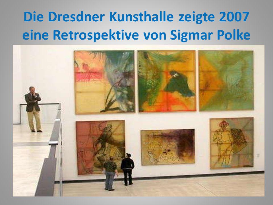 """Sigmar Polke 2002 wurde Sigmar Polke in Japan für sein Lebenswerk mit dem """"Praemium Imperiale Award ausgezeichnet"""