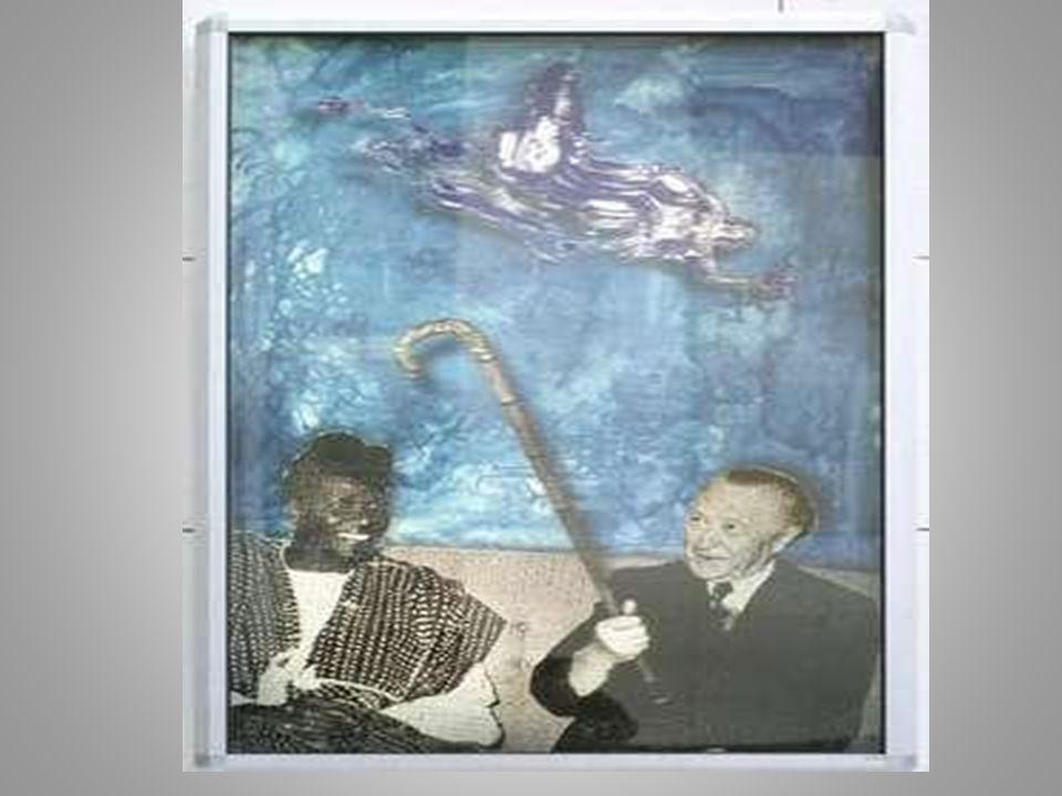 Sigmar Polke 1999 wurde Sigmar Polke gebeten, Bilder für den Reichstag zu malen.