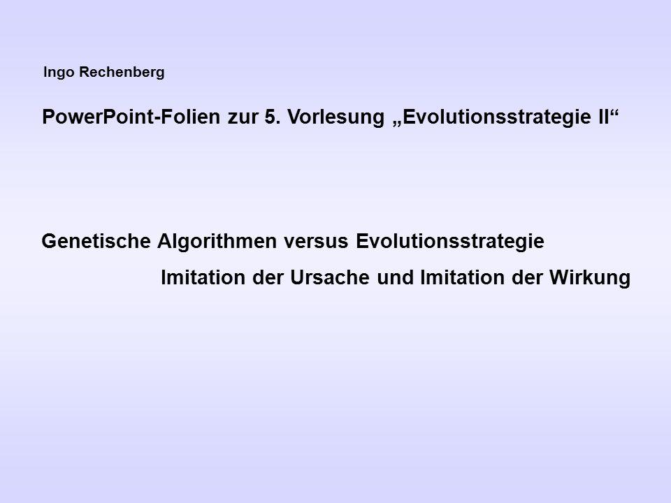 Ingo Rechenberg PowerPoint-Folien zur 5.
