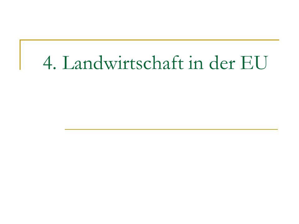 4. Landwirtschaft in der EU