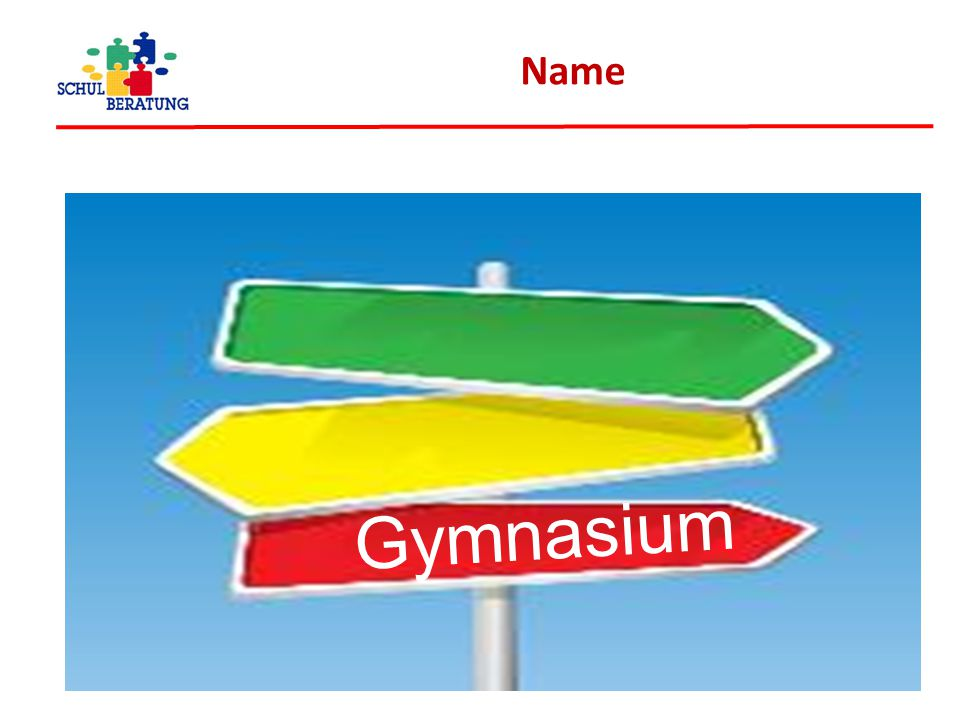 Name Gymnasium