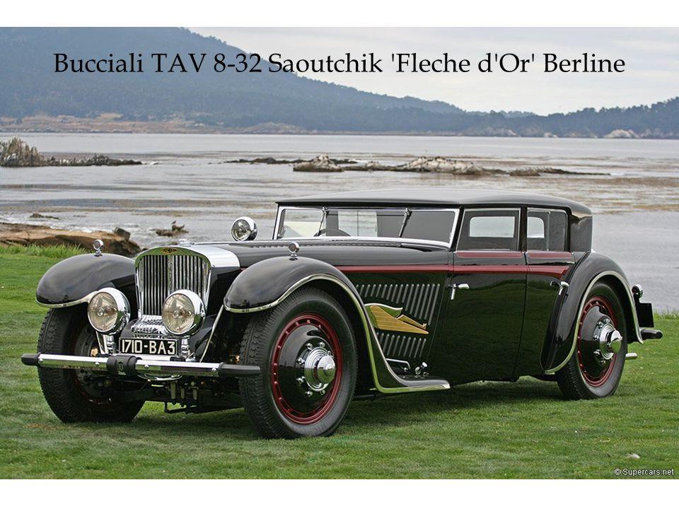 V12-Motor mit 4,9 Liter. Erbaut im Jahr 1931. Einer der ersten Frontantriebe.
