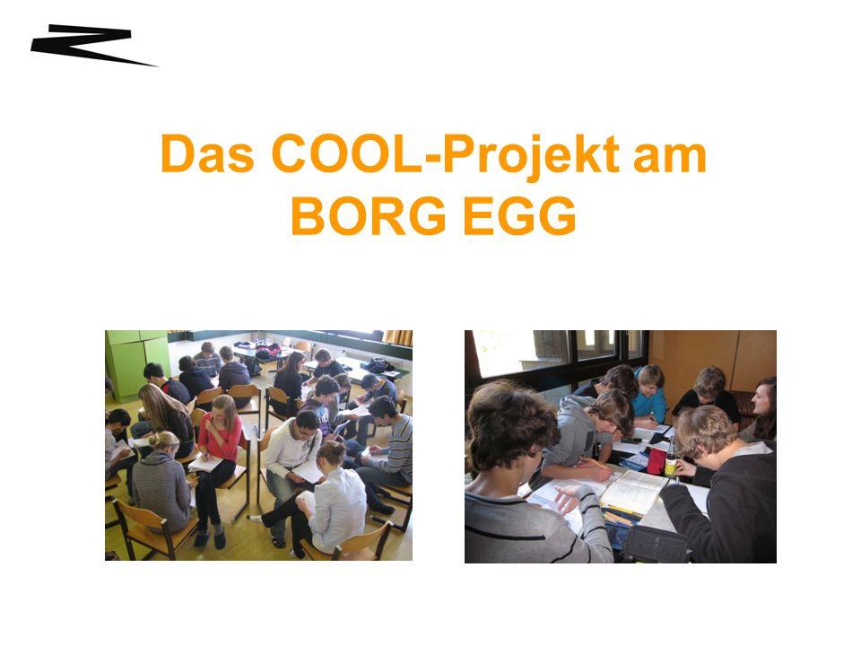 Das COOL-Projekt am BORG EGG