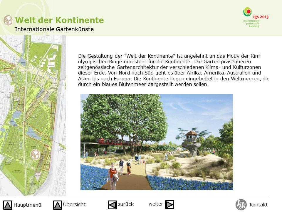 Internationale Gartenkünste Welt der Kontinente Die Gestaltung der