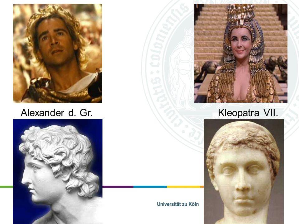 Alexander d. Gr.Kleopatra VII.