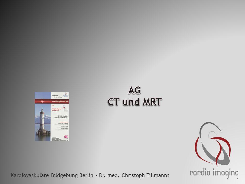 Kardiovaskuläre Bildgebung Berlin - Dr. med. Christoph Tillmanns