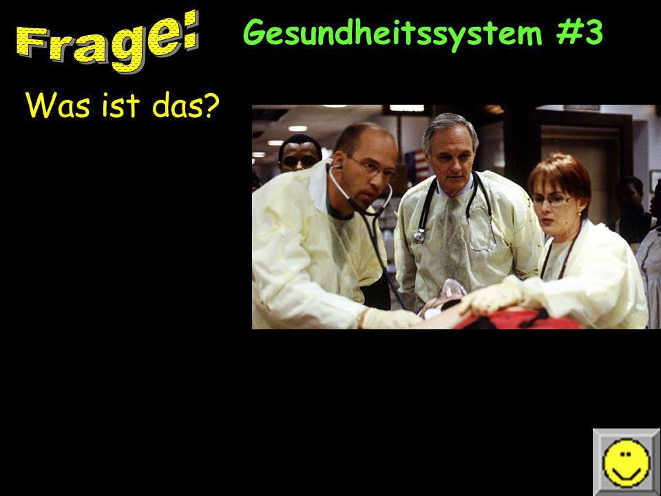 Gesundheitssystem #2 Wer sind diese Leute Und was machen sie
