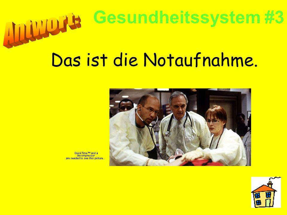 Gesundheitssystem #2 Das sind Chirurgen. Sie operieren (einen Patienten).