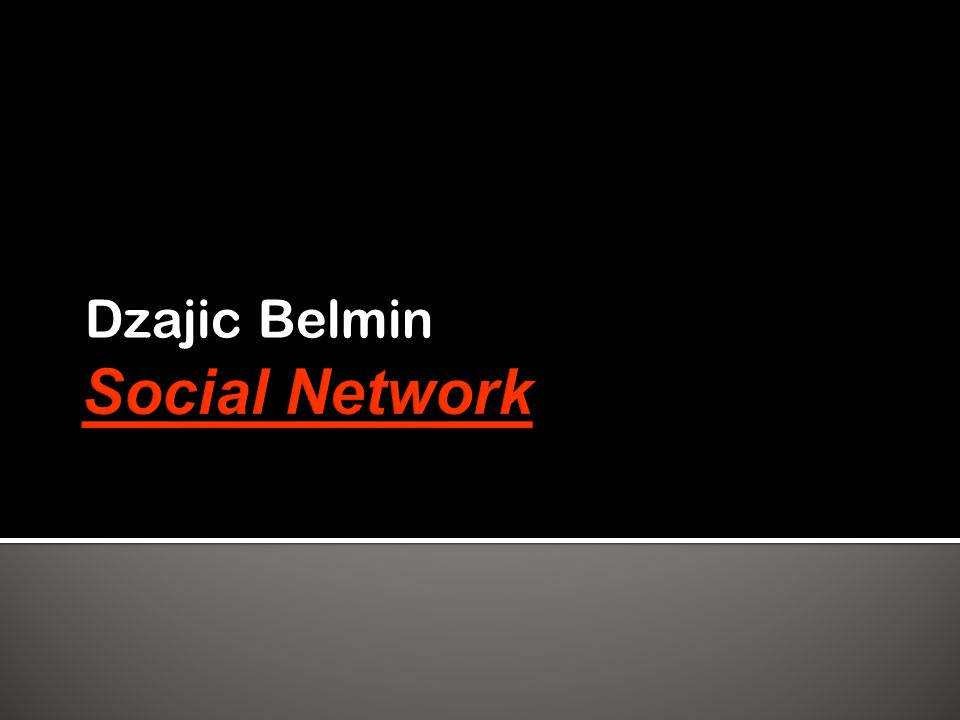  Social networking  Was ist ein Social Network.